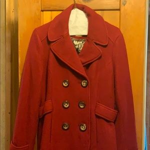 Fossil XL pea coat